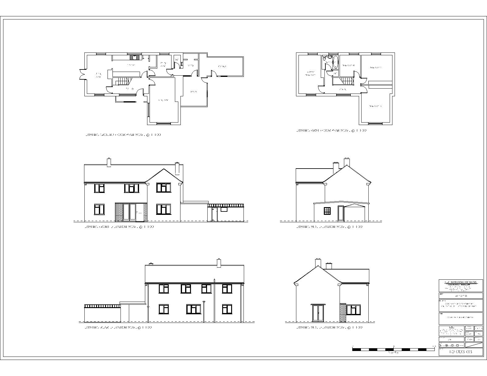 Floor And Elevation Plans : Residential building plan and elevation joy studio